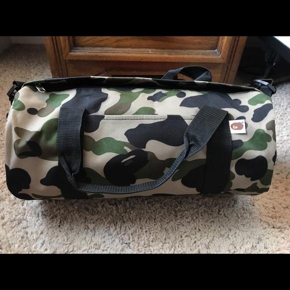 f9c423513a95 A Bathing Ape Duffel Bag